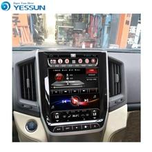 YESSUN Android радио автомобильный dvd-плеер для Toyota land Cruiser 200 стерео радио мультимедиа gps навигация с wifi Bluetooth AM/FM