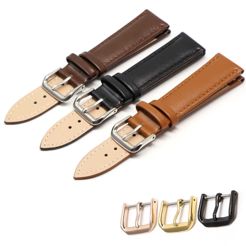 18mm 20mm 22mm 24mm Retro calf leather watch band watch with genuine leather straps