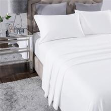Комплект постельного белья PHF White Home Hotel 4шт Комплект постельного белья из полиэстера