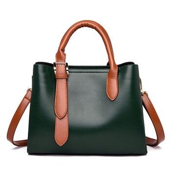 Women's Handbag Cartoon Decor Color Block Elegant Bag