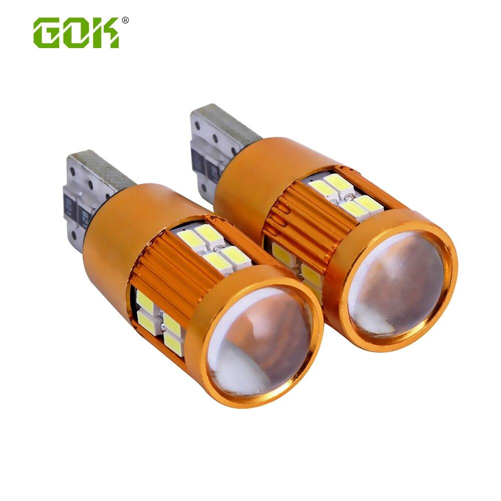 10pcs T10 led Canbus Fără eroare 3014 LED W5W T10 22smd 3014 - Faruri auto