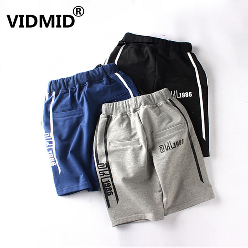 VIDMID Summer 6-14 year Children's Clothes Boy Shorts trousers Casual Knitted Cotton Teenage Boys cotton Shorts clothing 4102 08 1