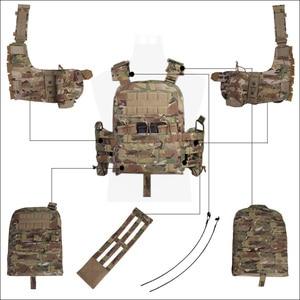 Image 5 - 에머슨 컴뱃 CP 스타일 체리 플레이트 캐리어 전술 조끼 NCPC EM7435