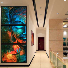 Buddha Wall Art Canvas Prints Modern Paintings On The Pictures Buddhism Posters home Decor