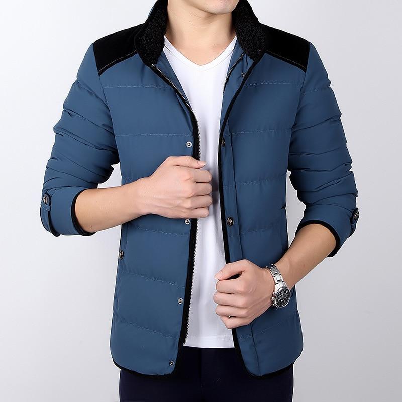 Brand New Winter Jacket Men Wadded Coats Fashion Casual Cotton Men's Zipper Outerwear Mandarin Collar Men's Thick Coat Parkas 2016 hot sale brand new winter outdoors jacket men wadded coats fashion outerwear casual jackets jackets