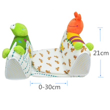 Baby Sleep Positioner Cartoon Anti-rollover Pillow Anti Flat Head Cushion