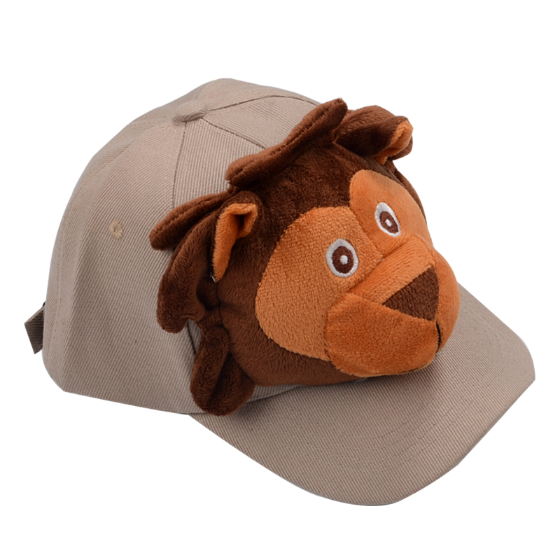 Child Kids Stuffed Animal Plush Baseball Hat Cute Cap Elephant Tiger Lion  Rabbit -in Baseball Caps from Apparel Accessories on Aliexpress.com  1013ffb8ad8