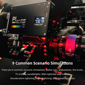 Image 5 - בולינג BL P1 12W צילום תאורה עם RGB מלא צבע Dimmable 2500K 8500K עבור DSLR מצלמה סטודיו vlogging LED אור