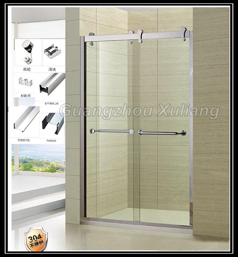 Cristales para duchas free mampara de cristal tallado for Puertas de cristal para duchas