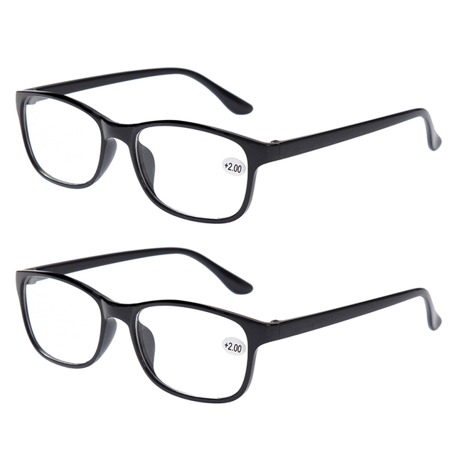 2x Classic Bifocal Reading Glasses Mens Womens Readers Eyewear ...