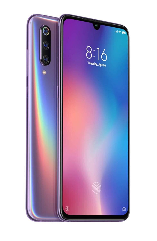 Xiao mi mi 9, Version globale, double SIM, couleur violette, ROM 64 go dur, 6 go de RAM dur, écran de 6,39
