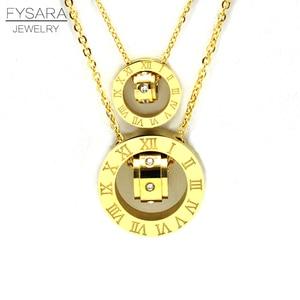 FYSARA Couple Jewelry Austrian
