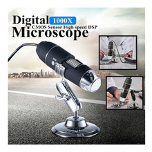 Cheaper 1000X 2MP 8 LEDs USB Digital Microscope Endoscope Zoom Camera Magnifier with Stand