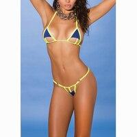 String Micro Bikini Triangle Brazilian Mini Bikinis Set 2