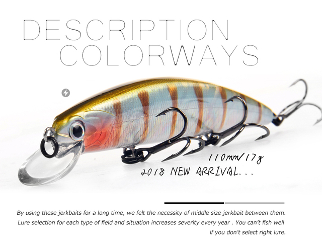 Bearking 11cm 17g magnet weight system long casting New model fishing lures hard