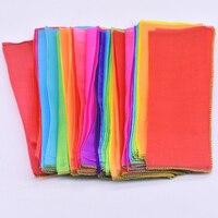 Rainbow Silk Streamer Multicolor(1000cm*25cm) Magic Tricks Scarve Appearing Magia Magician Stage Accessories Gimmick Props