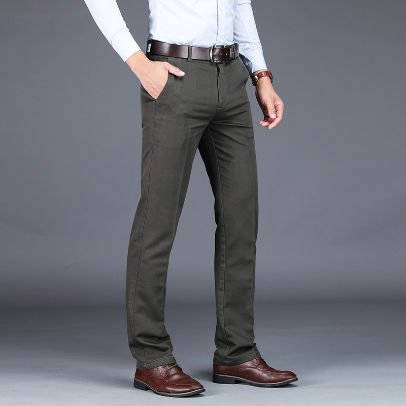Image 4 - VOMINT 2020 Mens Suit pants Fashion Stretch Slim Straight Men 
