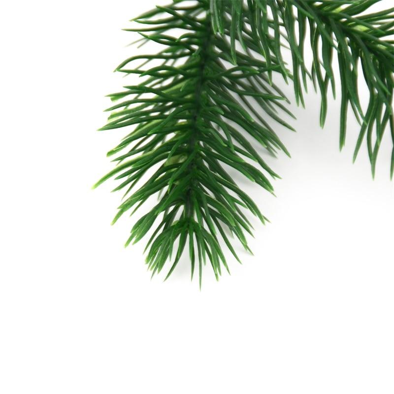 Cheap 50pcs Artificial Plants Pine Branches Christmas tree Wedding Decoration DIY Handcraft Accessories Children Gift Bouquet
