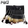 Function18pcs pinceles de maquillaje msq profesional full set mejor calidad pelo de animal maquillaje kits de cepillo cosméticos establece