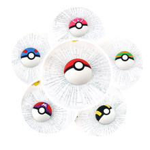 Car Styling Accessories3D Pet Pokemon Tennis Broken Glass Car Sticker Waterproof Fashion Funny(China)