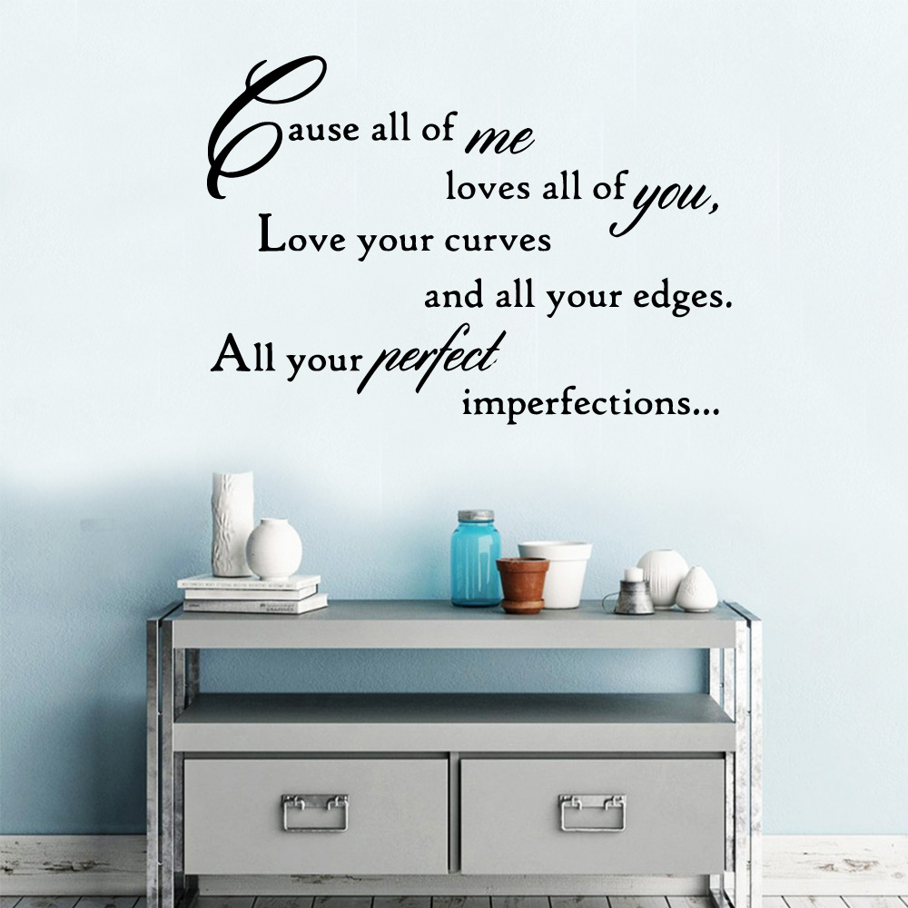 Artistic English Quotes Wall Stickers Home Furnishing Decorative Wall Sticker For Baby's Rooms Room Decor Wallstickers