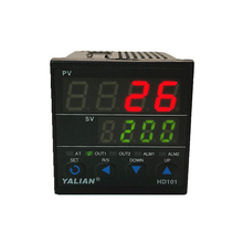 New Digital Temperature Controller Dual Line Display Thermo Inpute Relay Output Thermoregulator Set And Proces Temperature sestos dual digital pid ac dc 12 24v temperature controller 2 omron relay output d1s