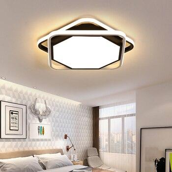 פשוט תקרת אורות לבית תאורה iluminacion לחדר שינה סלון מטבח plafonnier הוביל moderne תקרת אור שינה