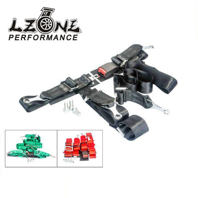 LZONE RACING-RACING GREEN DRIFT II 2 ''HOMBRO PERNO DE 4 PUNTOS del CINTURÓN de SEGURIDAD DEL CINTURÓN de seguridad ARNÉS JR-SB32