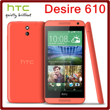 610 Original Unlocked HTC Desire 610 8MP 2040mAh 4.7 Inches 8GB ROM Touchscreen Refurbished Mobile Phone Free Shipping