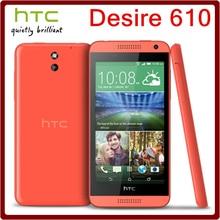 610 Original HTC Desire Desbloqueado 610 8MP 2040 mAh 4.7 Pulgadas 8 GB ROM Pantalla Táctil Reformado Teléfono Móvil Del Envío Gratis
