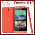610 abierto original htc desire 610 8mp 2040 mah 4.7 pulgadas 8 gb rom pantalla táctil reformado teléfono móvil del envío gratis