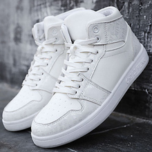 Men's footwear big size 5.5-11.5 designer high-top sneakers for students hard-wearing non-slip vulcanize shoes man
