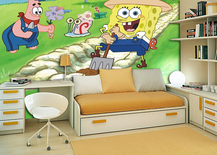 compare prices on spongebob murals online shopping buy spongebob movie mural wall decal at allposters com au