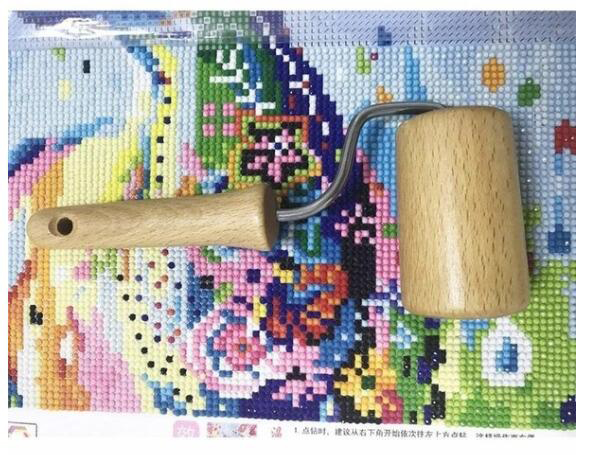 5D Diamond Painting Tool Wooden Roller for adults DIY Diamond Painting Accessories for Diamond Painting Sticking Tightly in Diamond Painting Cross Stitch from Home Garden