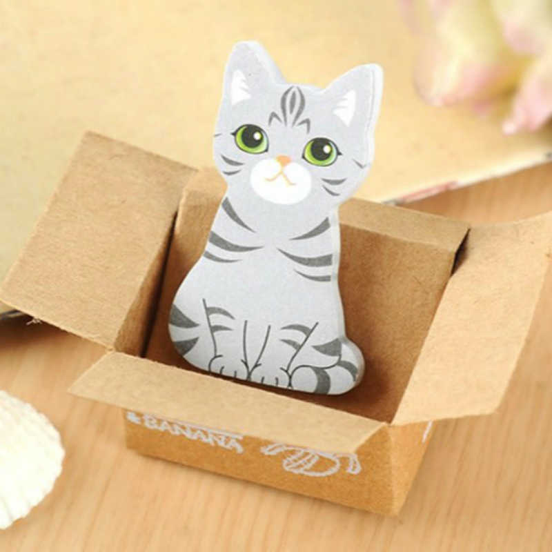 חתול כרית נייר חמודה פוסט זה הערות Kawaii קוריאני מכתבים קיטי בית עיצוב בעלי החיים דביק תזכיר