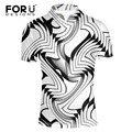 FORUDESIGNS Моды Polo Homme Бренд Высокого Качества Мужчины Polo Shirt новый Летний черный белый серый Европейский мужская Camisa Плюс Размер XXL