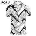 Forudesigns moda polo camisa homme hombres de la marca polo de alta calidad nuevo Verano negro blanco gris Camisa de Los Hombres Más El Tamaño Europeo XXL