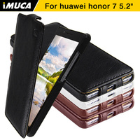 Huawei Honor 7 Case Cover IMUCA Flip Leather Case For Huawei Honor 7 Honor7 Luxury Phone