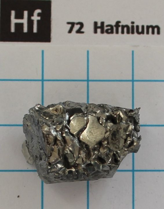 10 gram 99.99% Hafnium metal - Element 72 sample все цены