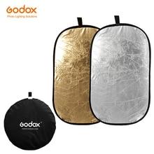 Godox 2in1 60x90 cm Taşınabilir Katlanabilir Işık Oval Fotoğraf Stüdyosu için Fotoğraf Reflektör