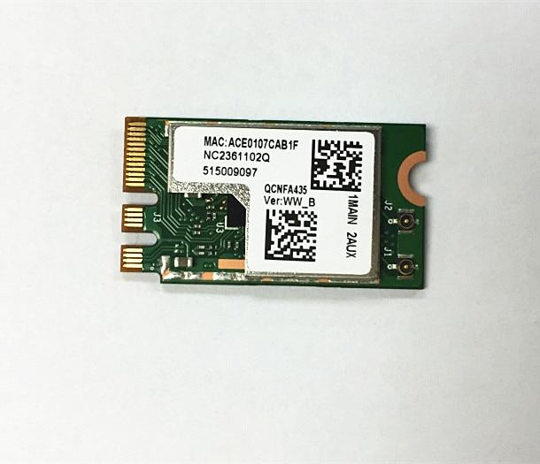 SSEA nuevo adaptador inalámbrico tarjeta Qualcomm Atheros QCA9377 QCNFA435 802.11AC 2,4g/5g NGFF tarjeta WIFI Bluetooth 4,1