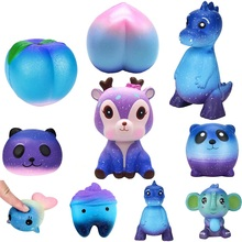 01085c0646e 2018 New Arrival Cute Deer Dinosaur Panda Slow Rising Squishies Scented  Charms Kawaii Squishy Squeeze Toy Collection