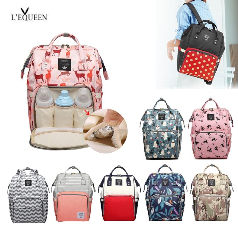 Mummy Diaper Bags Handbag Graffiti Large Capacity Land Maternity Bag Nappy Travel Nursing Diaper Baby Care Backpack