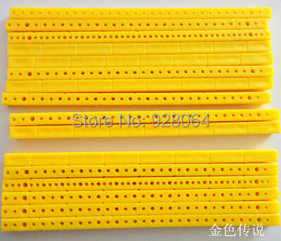 10pcs 7*7*153 ABS plastic bar/rod/gearbox bracket / toys axle frame / model materials/toy accessories/Technology model parts 10pcs diameter 57 60mm 2mm hole 4 blade propeller plastic blades toy accessories diy model accessories technology model parts