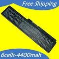 JIGU 4400 МАЧ Батареи Ноутбука Для Toshiba Satellite Pro C650 C660 L510 L600 L630 L640 L650 L670 M300 PS300C U400 U500 C650D C660D