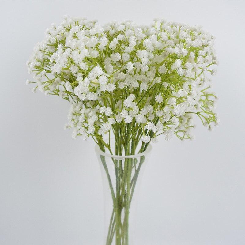 20.8\'\' Artifical Babysbreath Wedding Decorative Plastic Gypsophila ...