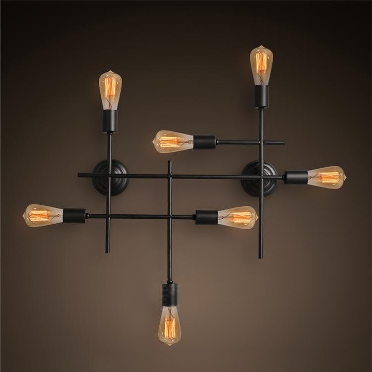 Retro Loft Industriel Grand Edison Applique Murale Lampe Vintage