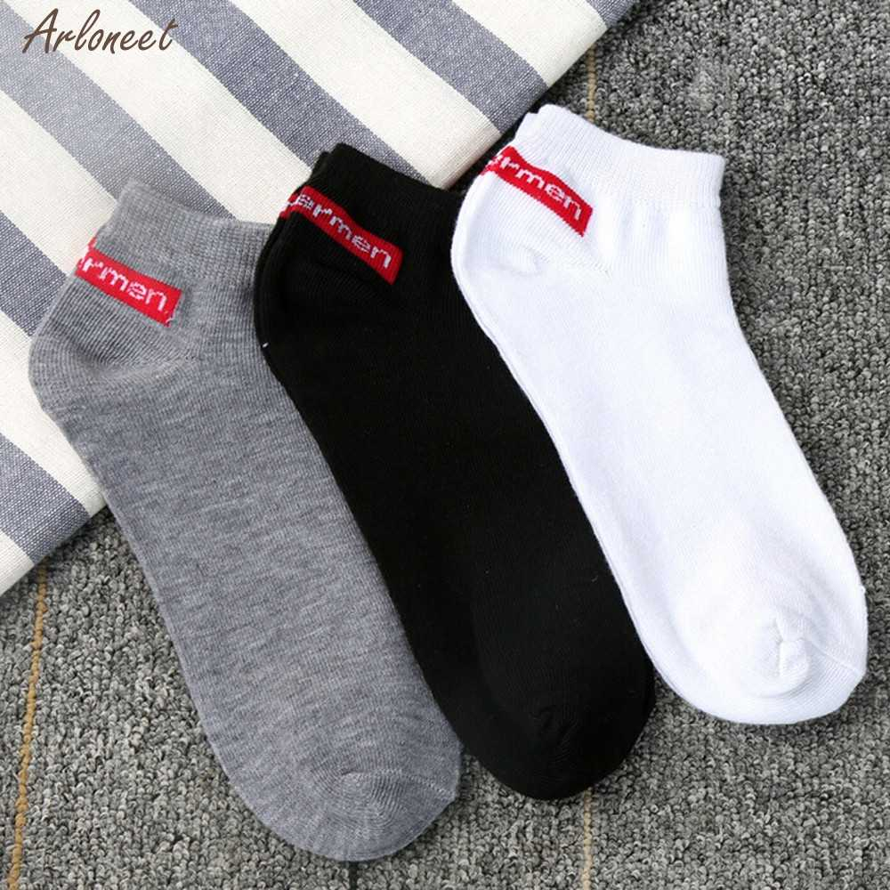 Unisex Socks Comfortable Stripe summer thin Cotton Sock Slippers Short Ankle Breathable Casual Solid color Socks