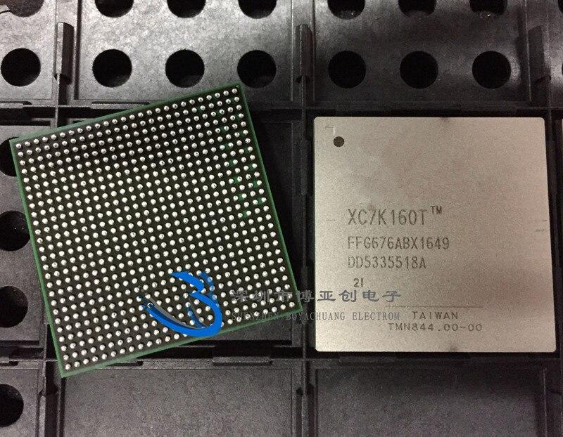 Free Shipping 1pcs XC7K160T-2FFG676I XC7K160T-2FFG XC7K160T IC BGA676 New and Original 1pcs xc3s1600e 5fg484c xc3s1600efg484 ic fpga 376 i o 484fbga bga in stock 100%new and original