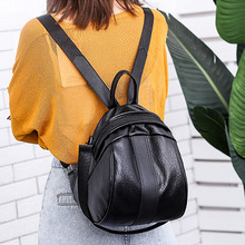 Fashion Women Backpacks Leather Backpacks Female School Shoulder bags for Teenage Girls Shell Travel Backbag Mochila
